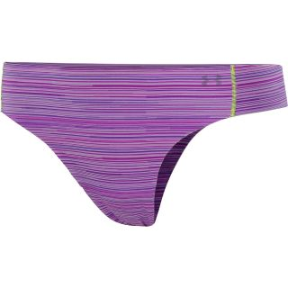 UNDER ARMOUR Womens Pure Stretch Thong, Exotic Bloom/pride