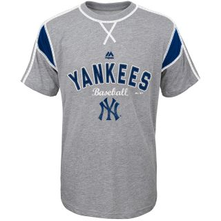 MAJESTIC ATHLETIC Youth New York Yankees Short Stop Short Sleeve T Shirt   Size