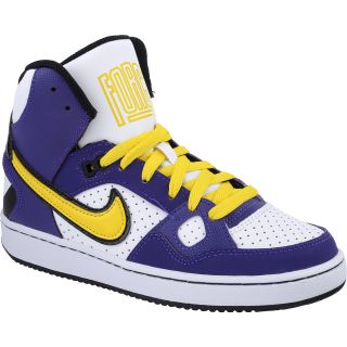 NIKE Boys Son Of Force Mid Basketball Shoes   Grade School   Size 6,