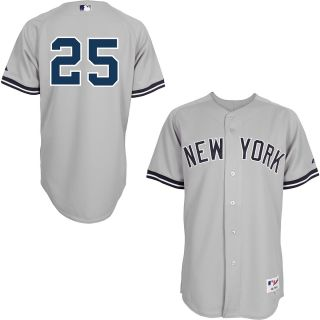 Majestic Athletic New York Yankees Mark Teixeira Authentic Road Jersey   Size