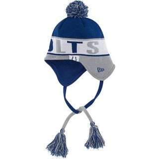 NEW ERA Mens Indianapolis Colts Crayon Box Knit Hat, Blue