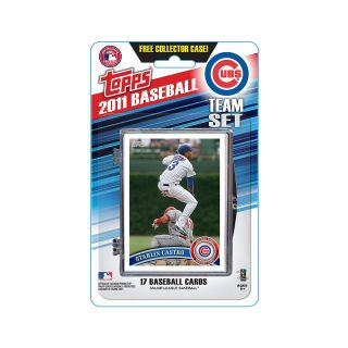 Topps 2011 Chicago Cubs Official Team Baseball Card Set of 17 Cards in