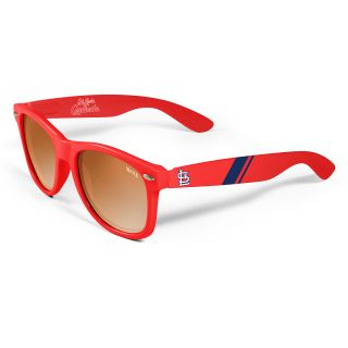 MAXX St. Louis Cardinals Retro Red Sunglasses, Red