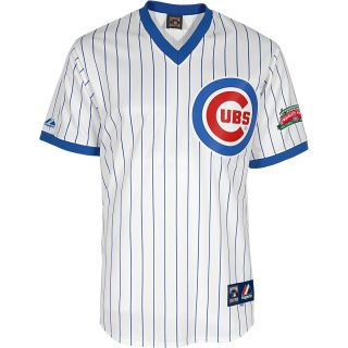 MAJESTIC ATHLETIC Mens Chicago Cubs 1988 Sunday Authentic Replica Home Jersey