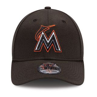 NEW ERA Mens Miami Marlins 39THIRTY Team Tonal Reverse Alternate Logo Fitted