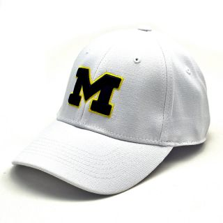 Top of the World Premium Collection Michigan Wolverines One Fit Hat   Size 1