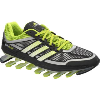 adidas Mens SpringBlade Running Shoes   Size 10, Black/solar Blue