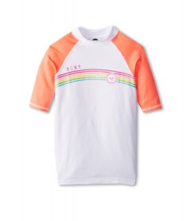 Roxy Kids From Above S/S Surf Shirt Girls Swimwear (Pink)