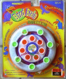 Bird Brain The Electronic Talking, Squawking Memory Game Toys & Games