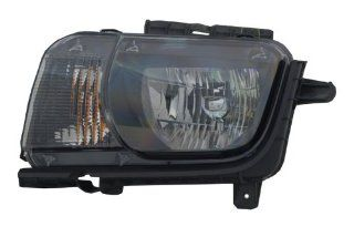2010 2011 Chevy Camaro CCFL Halo Projector Headlights (Black) Automotive