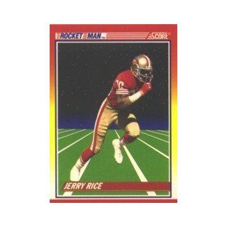 1990 Score #556 Jerry Rice Rocket Man Sports Collectibles