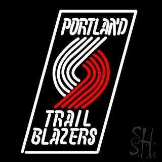 "Portland Trail Blazers NBA Neon Sign 24"" Tall x 24"" Wide x 3"" Deep  Business And Store Signs"