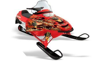 AMR Racing Fits Polaris Edge Chassis Race 500/600 Sled Snowmobile Graphic Ki Automotive