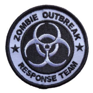 Zombie Outbreak Response Team Biohazard Logo Iron On Patch 3 inches