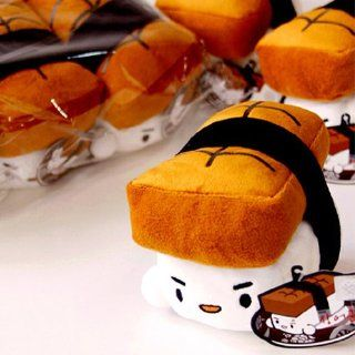 "Japanese SUSHI suctioncup mini cushion kawaii cute gift ~Eel 4.3"" Toys & Games"