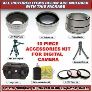 10 PC SUPER ACCESSORY KIT FOR CANON A75 A60 A70 NEW Computers & Accessories