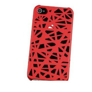 Ayangyang 100%New Red High Quality Exquisite Purity Wear resisting Plastic Birds Nest Case for Apple Iphone4 4S Cell Phones & Accessories
