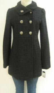 Guess Baby Doll Wool Coat, Jacket, Black, x large, Mh564