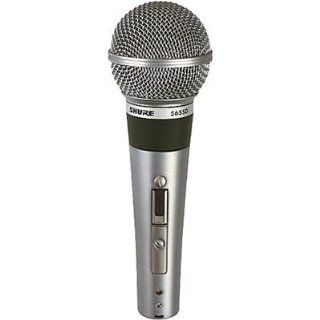 Shure 565SD LC Microphone without Cable, Silent Magnetic Reed On/Off Switch with Lock on Option Musical Instruments