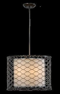 Mariana Lighting 302147 Five Light Drum Shade Pendant   Ceiling Pendant Fixtures