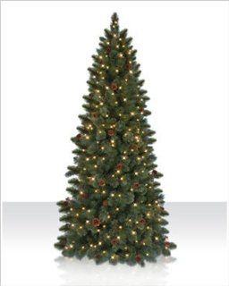 7 ft. Cashmere Artificial Christmas Tree   clear lights []   Ge Artificial Christmas Trees