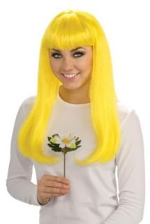 Rubie's Costume The Smurfs 2 Smurfette Wig, Yellow, One Size Costume Accessories Costume Wigs Clothing