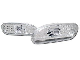 Depo Crystal Clear Parking Bumper Side Marker Lights Lamp Eclipse/Talon Automotive