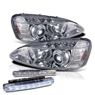 2006 PONTIAC GRAND PRIX HALO PROJECTOR HEADLIGHTS HEAD LIGHTS + LED BUMPER LAMPS Automotive