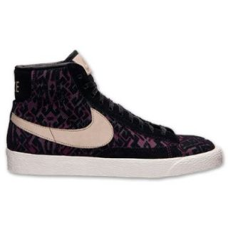 Nike Blazer Mid QAW PRM Women Sneakers Raspberry Red/Linen 403729 601 Shoes