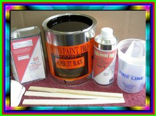 Auto Body Paint Single Stage Enamel Super Jet Black kit $ 79.00 Automotive