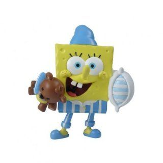 SpongeBob SquarePants Mini Figure World Bedtime SpongeBob Toys & Games