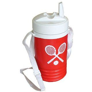 Igloo Crossed Racquets 1 Quart Beverage Cooler   Red Sports & Outdoors