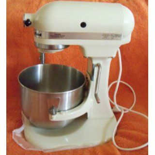 KitchenAid K5SSWH Heavy Duty Series 5 Quart Stand Mixer, White Kitchen & Dining