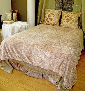 Ultra Soft Faux Fur Shag Bedspread Bedcover Blanket Bedding Camel Beige King  Other Products
