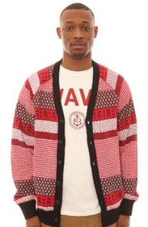 Crooks and Castles Men's Fair Mile Cardigan Extra Extra Large Red at  Men�s Clothing store Athletic Sweatshirts