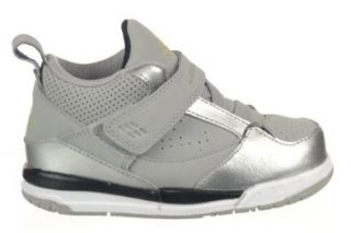 Jordan Flight 45 (TD) Baby Toddlers Shoes Grey/Silver Grey/Silver 364759 030 10 Shoes