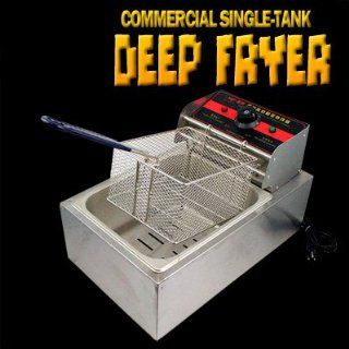 New MTN 2500W Commercial Restaurant Countertop Electric Deep Fryer 5L Tank Kitchen & Dining