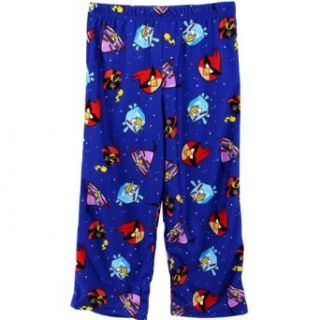"Angry Birds Space ""Fry Me to the Moon"" Blue Boys Pajama Pants (10/12 (Large)) Pajama Bottoms Clothing"