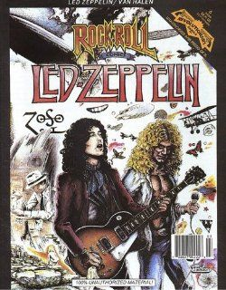 Rock N' Roll Comics Magazine #6  Led Zeppelin & Van Halen (Revolutionary Comics) Greg Fox, Mary Kelleher Books