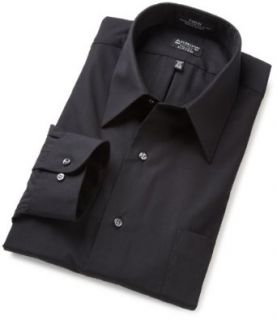Arrow Mens Fitted Poplin Dress Shirt at  Men�s Clothing store