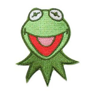 Jim Henson The Muppets Kermit Frog Cartoon Embroidered Iron on Patch Clothing