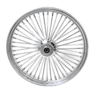 DNA Specialty Inc. Front Mammoth 52 Fat Spoke Wheel 21X2.15 for Harley Davidson 1988 1999 FLST Models Automotive