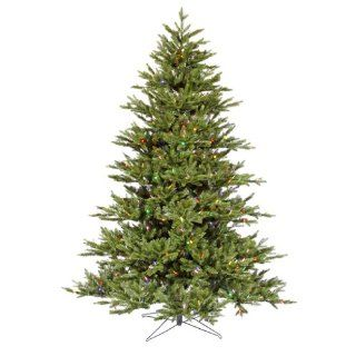 "Vickerman 22941   7.5' x 65"" Noble Fir 800 Multi Color Italian LED Lights Christmas Tree (G112177LED)"