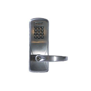 Schlage Electronics CO 200 Series Standalone Electronic Lockset, Keypad, Cylindrical Lock, Schlage Cylinder Keyway, Sparta Lever, Satin Chrome Finish, With Privacy Function Door Lock Replacement Parts