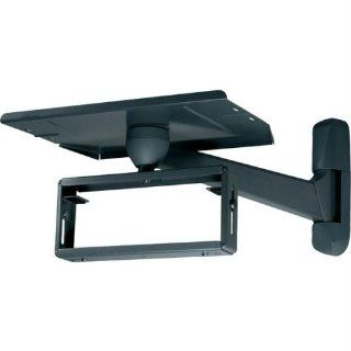 "AVF 650B Vector 650 TV/VCR Wall Mount (Black) (13 21"" TV, 13 19"" Wide VCR) (100 lbs. Weight Limit) Electronics"