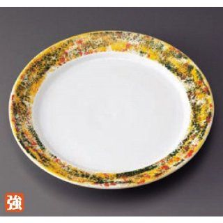 dinner plate kbu750 10 652 [10.48 x 1.26 inch] Japanese tabletop kitchen dish 9.0 dish pasta dish���color [26.6 x 3.2cm] strengthening Restaurant Hotel Tableware commercial restaurant kbu750 10 652 Kitchen & Dining