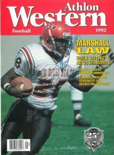 Marshall Faulk unsigned San Diego State Aztecs Athlon Sports 1992 College Football Western Preview Magazine Sports Collectibles