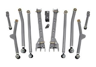 Rough Country 663U   X Flex Long Arm Upgrade Kit for 4 6 inch Lifts for Jeep Wrangler TJ 4WD Automotive