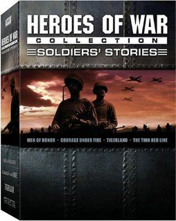 Heroes of War Collection   Soldier's Stories (Men of Honor / Courage Under Fire / Tigerland / The Thin Red Line) Jim Caviezel, Sean Penn, Nick Nolte, Cuba Gooding Jr., Robert De Niro, Colin Farrell, Denzel Washington, Meg Ryan, Elias Koteas, Ben Chapl