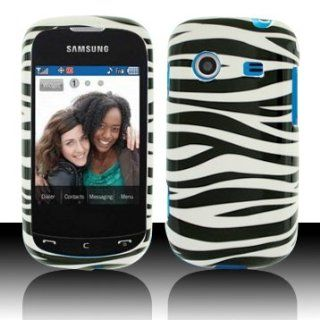 For Verizon Samsung Character R640 Accessory   White Black Zebra Design Hard Case Proctor Cover Cell Phones & Accessories